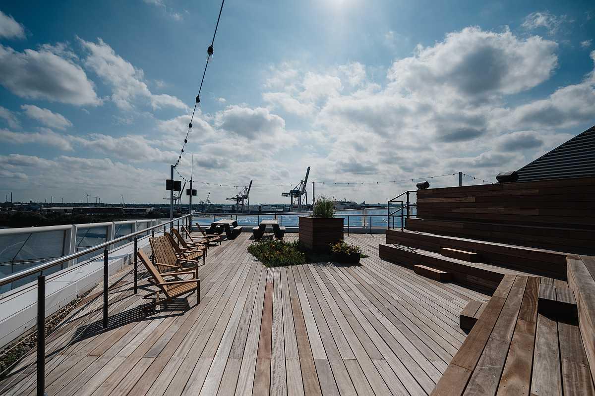 Foto New Work SE Dachterrasse